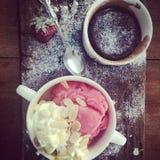вкусный десерт Стоковое Изображение RF