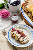 вкусный десерт Стоковая Фотография RF
