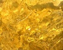 вкусный желтый цвет jello Стоковые Фотографии RF