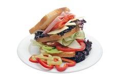вкусный здоровый сандвич Стоковые Изображения RF