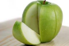 вкусный зеленый ломтик стоковые изображения rf