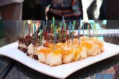 Вкусный и помадка испечет на плите Стоковые Фото
