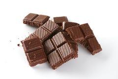 Вкусный пористый шоколад Стоковое Изображение