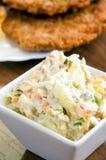 Вкусный русский салат Стоковое Изображение RF