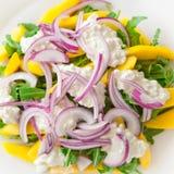 вкусный салат rucola стоковые фотографии rf