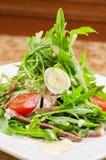 Вкусный салат языка говядины Стоковое Изображение RF