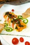 вкусный свежий томат стартера mozzarella Стоковая Фотография