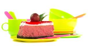 Вкусный смотря кусок пирога Стоковая Фотография RF