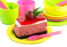 Вкусный смотря кусок пирога Стоковые Изображения
