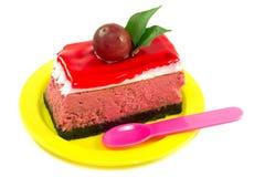 Вкусный смотря кусок пирога Стоковые Изображения RF