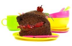 Вкусный смотря кусок пирога Стоковое Фото
