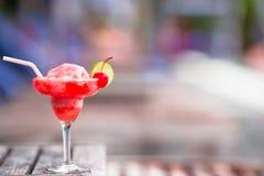 Вкусный спиртной бассейн предпосылки коктеиля Стоковое Изображение