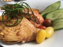 Вкусный стейк тунца Стоковое Фото