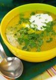 вкусный суп Стоковые Изображения RF