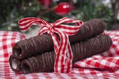 Вкусный сладостный шоколад Стоковые Изображения RF