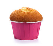 Вкусный торт булочки изолированный на белизне Стоковые Фотографии RF