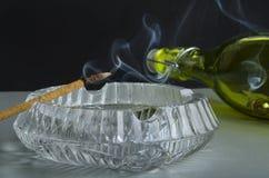 Вкусный дым Стоковые Фото
