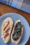 2 вкусных сандвича Стоковое Фото