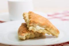 2 вкусных торта ванили Стоковое Изображение RF