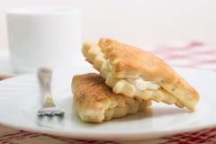 2 вкусных торта ванили Стоковые Фото