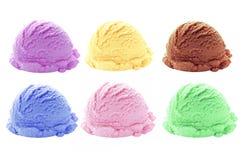 Вкусы ветроуловителя мороженого Стоковая Фотография RF