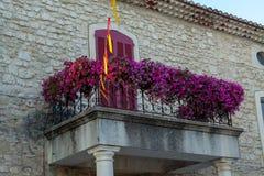 Вкус Провансали, малой южной деревни в Франции стоковое фото rf