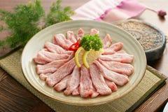 Вкус равнины Gabeurisal корейца предложения мяса говядины Стоковая Фотография