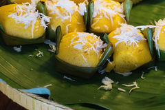 Вкус тайского торта ладони toddy сладостный очень вкусный Стоковые Фотографии RF