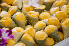 Вкус тайского торта ладони toddy сладостный очень вкусный Стоковая Фотография