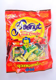 Вкус хрустящей конфеты арахиса хороший Стоковые Фотографии RF