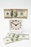 Вклад денег в время Стоковое Изображение RF