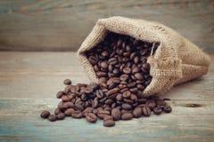 Вкладыш кофейных зерен Стоковое фото RF