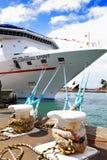 Вкладыш круиза духа масленицы состыковал на гавани Сиднея Стоковые Фото