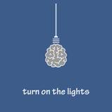 Включите света Стоковая Фотография RF