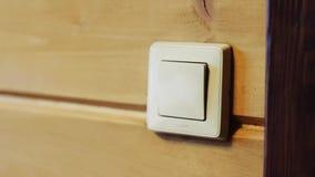 Включите стену Поворачивать свет видеоматериал
