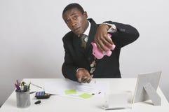 владелец бизнеса малый Стоковая Фотография RF