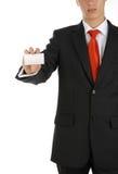 владельец карточки дела Стоковая Фотография RF