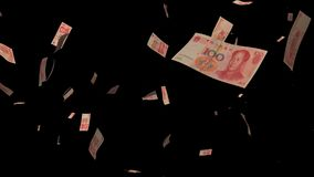 владение домашнего ключа принципиальной схемы дела золотистое достигая небо к падение денег изолированное на черной предпосылке Стоковая Фотография RF