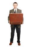владения укомплектовывают личным составом открытый чемодан Стоковое фото RF
