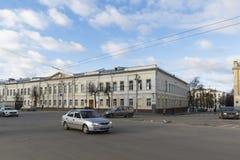 ВЛАДИМИР, РОССИЯ -05 11 2015 Общественная школа одно Стоковое Фото