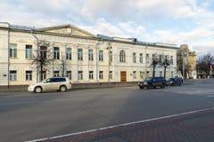 ВЛАДИМИР, РОССИЯ -05 11 2015 Общественная школа одно Стоковые Фотографии RF