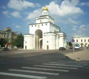 ВЛАДИМИР, РОССИЯ - 17-ое июля 2016: Золотые стробы vladimir Стоковое Изображение RF