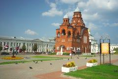 ВЛАДИМИР, РОССИЯ - 17-ое июля 2016: Золотые стробы vladimir Стоковые Фото