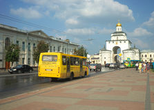 ВЛАДИМИР, РОССИЯ - 17-ое июля 2016: Золотые стробы vladimir Стоковое фото RF