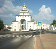 ВЛАДИМИР, РОССИЯ - 17-ое июля 2016: Золотые стробы vladimir Стоковые Изображения RF