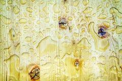 Влажная деревянная предпосылка Стоковое Изображение RF