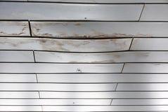 Влажное пятно на белой стене Стоковая Фотография RF