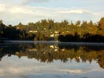 Влияние зеркала воды стоковые изображения rf