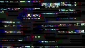 Влияние небольшого затруднения Ошибка экрана компьютера Видео ошибки o r Предпосылка небольшого затруднения иллюстрация вектора