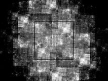 Влияние новой технологии черно-белое Стоковое фото RF